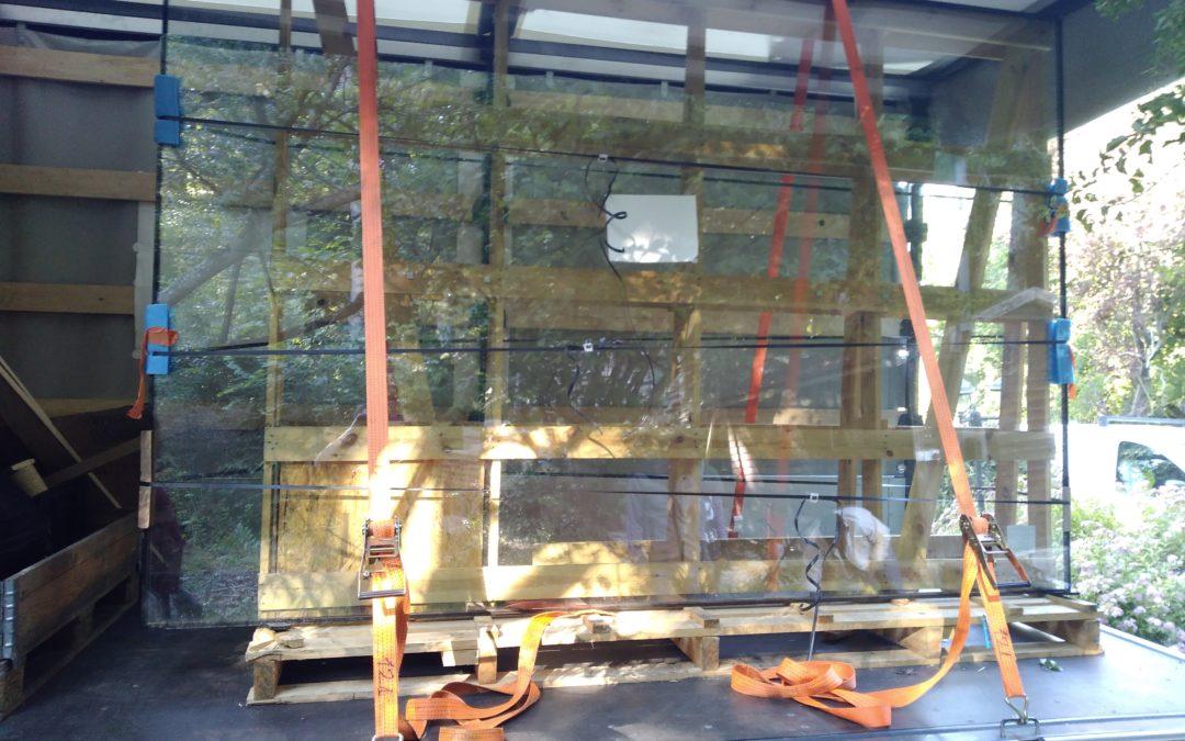 Livraison d'encadrement de fenêtres en un temps record par 100% fret