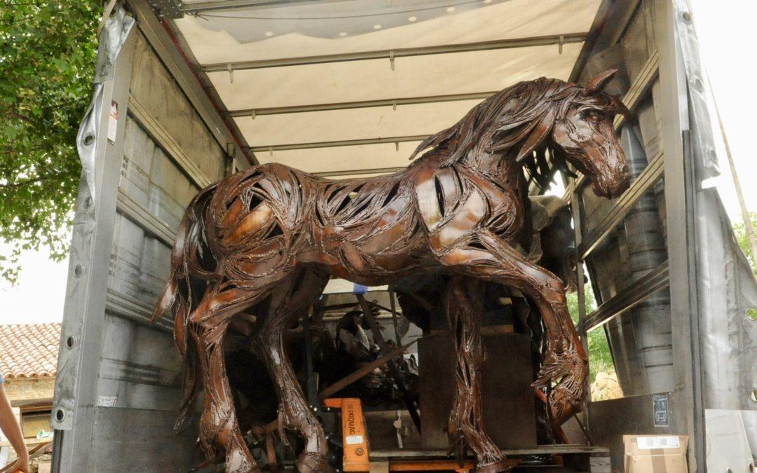 Exposition de sculptures monumentales